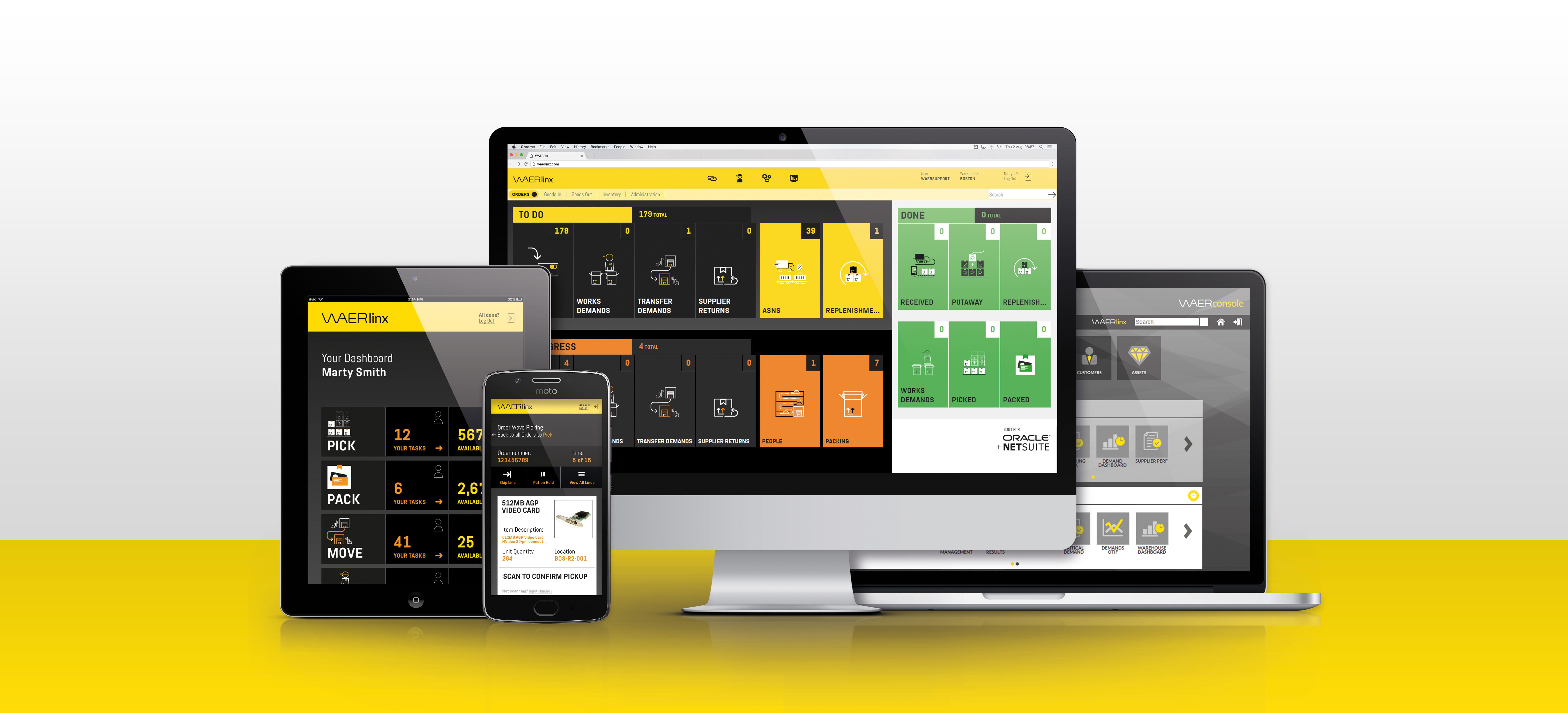 Warehouse Management NetSuite - WAERlinx